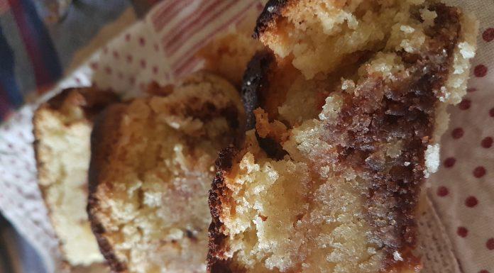 Torta marmorizzata al cacao